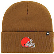 '47 Men's Cleveland Browns Carhartt Brown Knit Hat