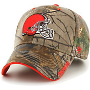 '47 Men's Cleveland Browns Frost Realtree Adjustable Camouflage Hat