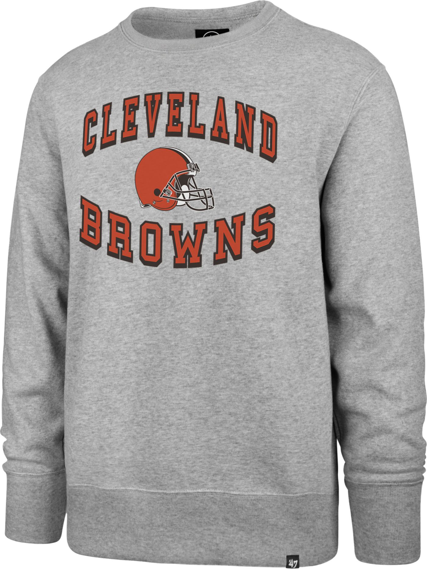 '47 Men's Cleveland Browns Headline Grey Crew