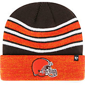 '47 Men's Cleveland Browns Rotation Brown Cuffed Knit