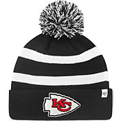 '47 Men's Kansas City Chiefs Breakaway Black Cuffed Knit