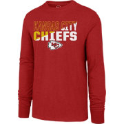 '47 Men's Kansas City Chiefs Club Long Sleeve Red Shirt