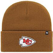 '47 Men's Kansas City Chiefs Carhartt Brown Knit Hat