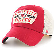 '47 Men's Kansas City Chiefs Crawford Clean Up Adjustable Red Hat
