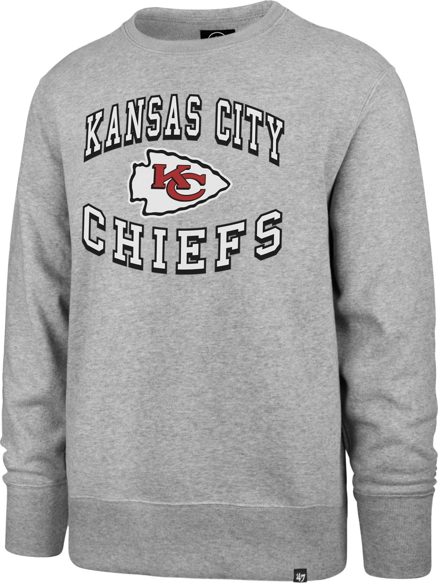 '47 Men's Kansas City Chiefs Headline Grey Crew