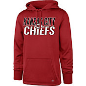 '47 Men's Kansas City Chiefs Tech Fleece Red Performance Hoodie