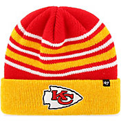'47 Men's Kansas City Chiefs Rotation Red Cuffed Knit