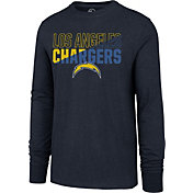 '47 Men's Los Angeles Chargers Club Long Sleeve Navy Shirt