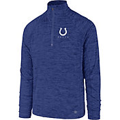 '47 Men's Indianapolis Colts Impact Royal Quarter-Zip Pullover