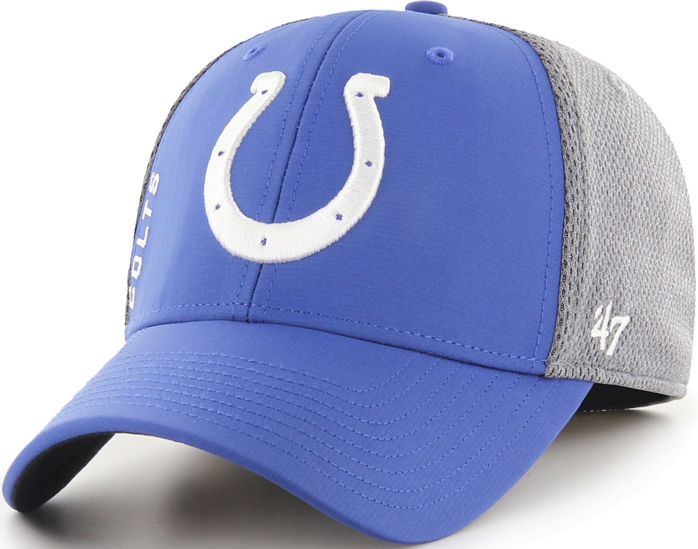 '47 Men's Indianapolis Colts Wycliff Contender Stretch Fit Royal Hat