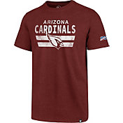 '47 Men's Arizona Cardinals 100th Club Red T-Shirt