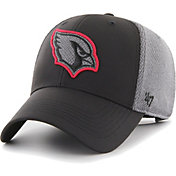 '47 Men's Arizona Cardinals Arlo MVP Adjustable Black Hat