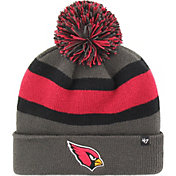 '47 Men's Arizona Cardinals Breakaway Charcoal Pom Knit