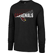 '47 Men's Arizona Cardinals Club Long Sleeve Black Shirt