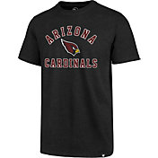 '47 Men's Arizona Cardinals Club Arch Black T-Shirt