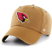 '47 Men's Arizona Cardinals Carhartt Clean Up Adjustable Brown Hat