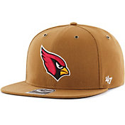 '47 Men's Arizona Cardinals Carhartt Captain Adjustable Brown Hat