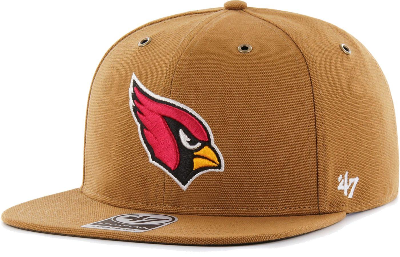 '47 Men's Arizona Cardinals Carhartt Captain Adjustable Brown Hat