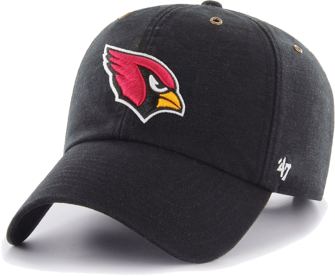 '47 Men's Arizona Cardinals Carhartt Clean Up Adjustable Black Hat