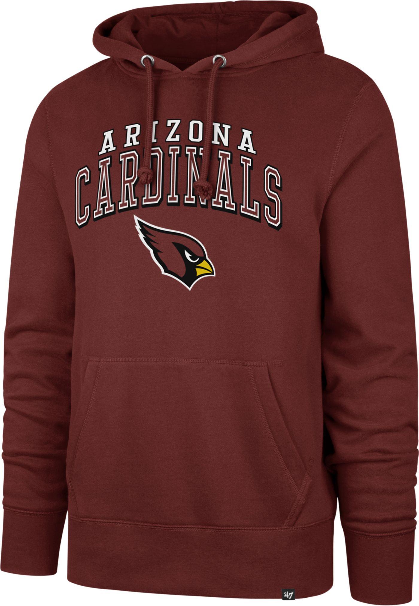 '47 Men's Arizona Cardinals Headline Red Hoodie