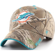'47 Men's Miami Dolphins Frost Realtree Adjustable Camouflage Hat