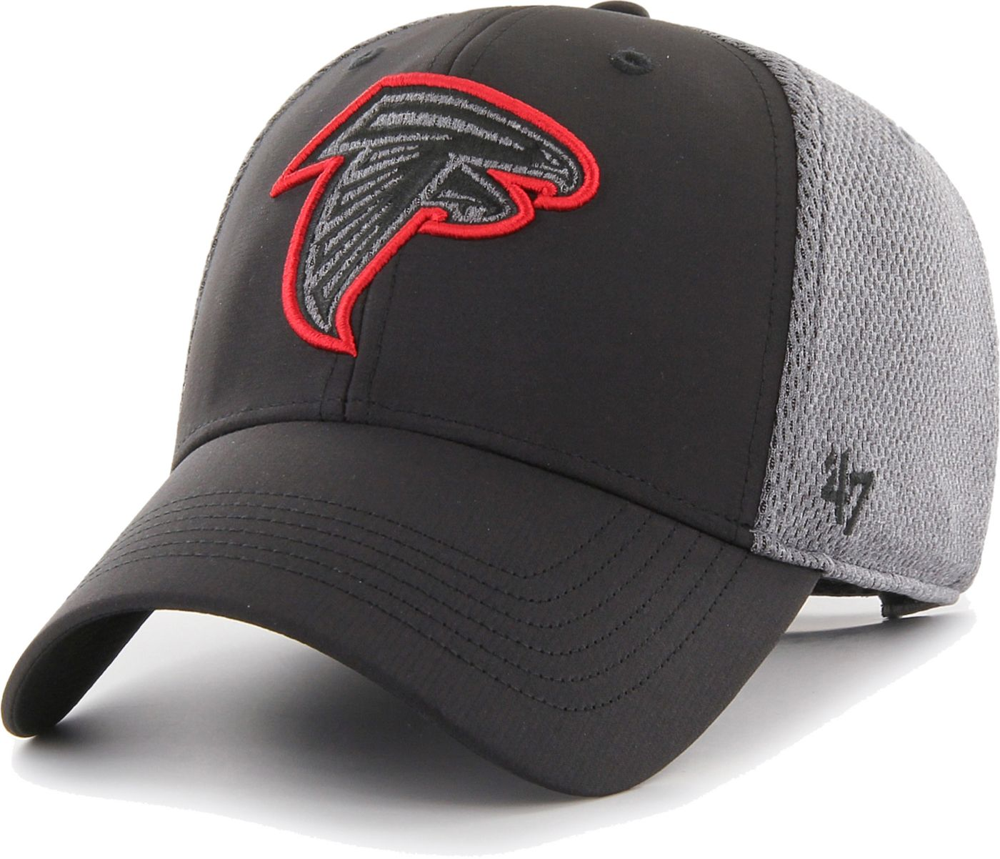 '47 Men's Atlanta Falcons Arlo MVP Adjustable Black Hat