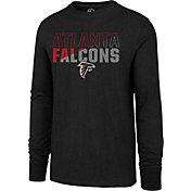 '47 Men's Atlanta Falcons Club Long Sleeve Black Shirt