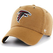 '47 Men's Atlanta Falcons Carhartt Clean Up Adjustable Brown Hat