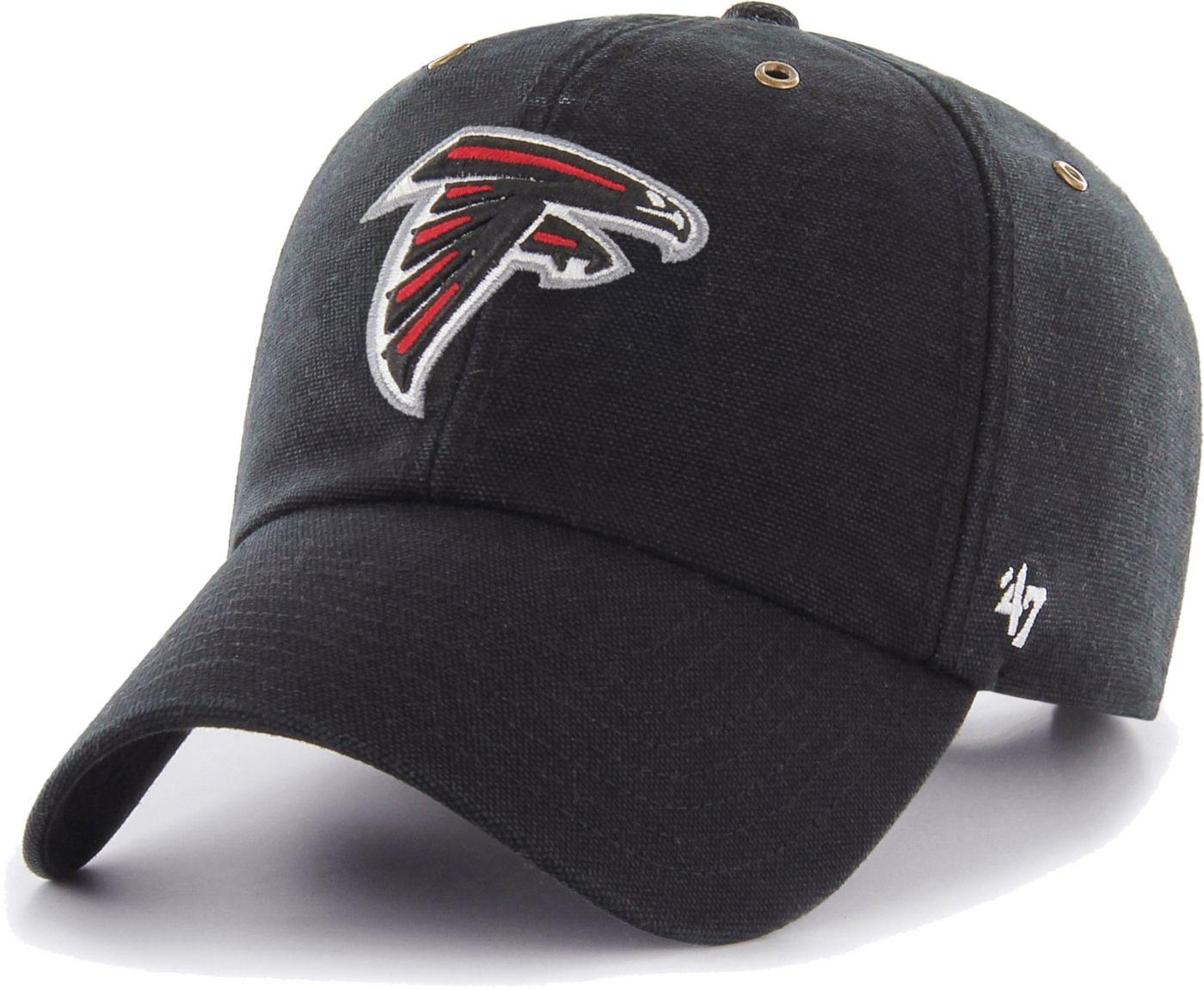 '47 Men's Atlanta Falcons Carhartt Clean Up Adjustable Black Hat