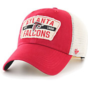 '47 Men's Atlanta Falcons Crawford Clean Up Adjustable Red Hat
