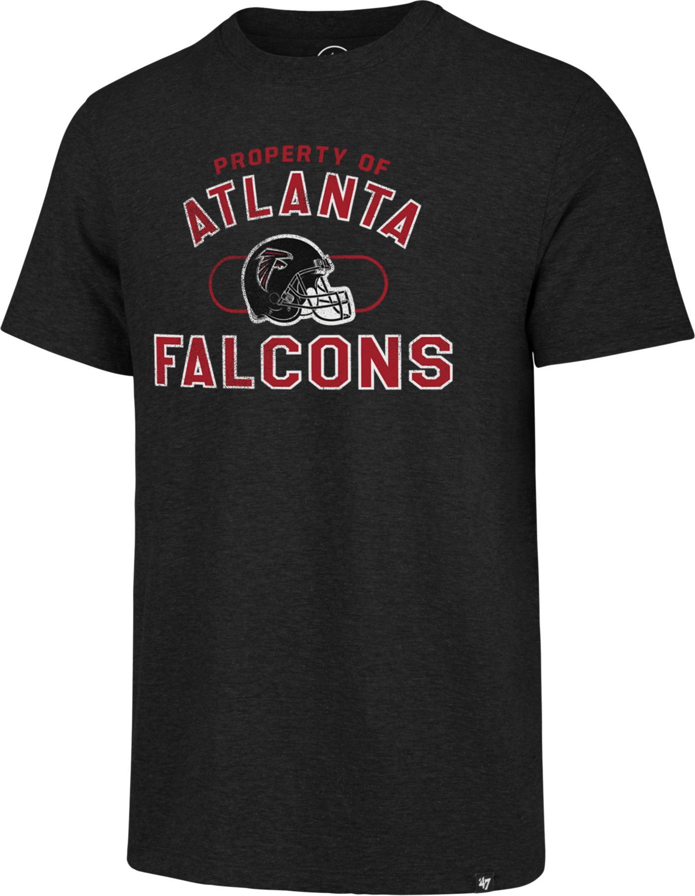 '47 Men's Atlanta Falcons Match Black T-Shirt