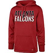 '47 Men's Atlanta Falcons Tech Fleece Red Performance Hoodie