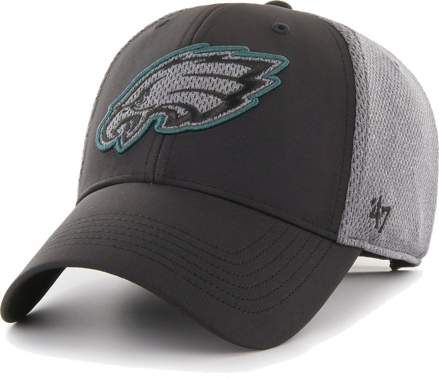 '47 Men's Philadelphia Eagles Arlo MVP Adjustable Black Hat