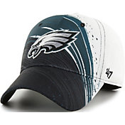 '47 Men's Philadelphia Eagles Splash Solo Black Stretch Fit Hat