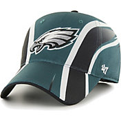 '47 Men's Philadelphia Eagles Eclipse Solo Green Stretch Fit Hat