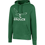 '47 Men's Philadelphia Eagles Legacy Headline Green Hoodie