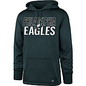 '47 Men's Philadelphia Eagles Tech Fleece Green Performance Hoodie