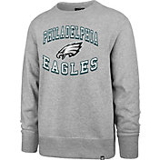 '47 Men's Philadelphia Eagles Headline Grey Crew