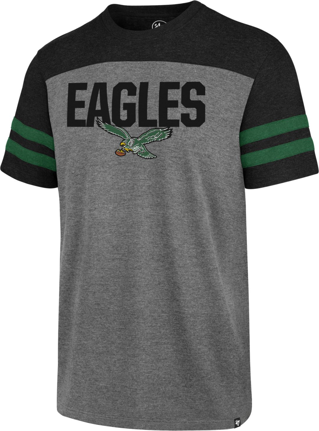 3bb85b23 '47 Men's Philadelphia Eagles Legacy Club Grey T-Shirt