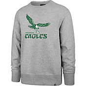 '47 Men's Philadelphia Eagles Legacy Headline Grey Crew Sweatshirt