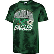 '47 Men's Philadelphia Eagles Tubular Tie Dye T-Shirt