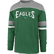 '47 Men's Philadelphia Eagles Win Streak Legacy Green Long Sleeve Shirt