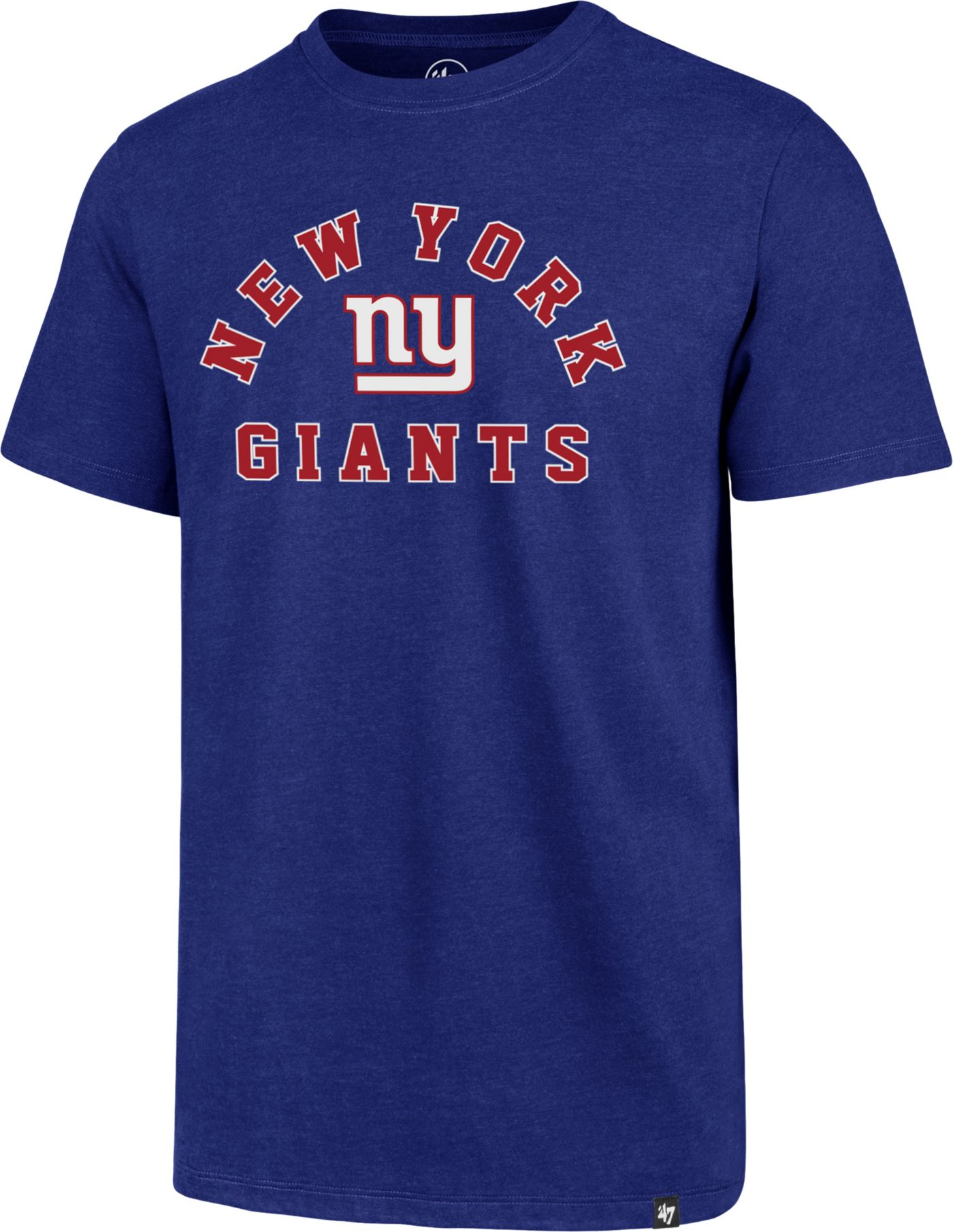 '47 Men's New York Giants Club Arch Royal T-Shirt
