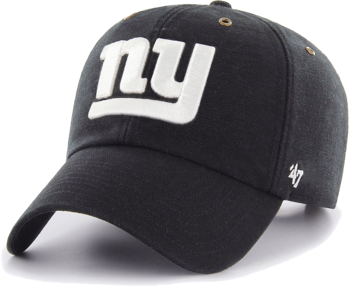 '47 Men's New York Giants Carhartt Clean Up Adjustable Black Hat