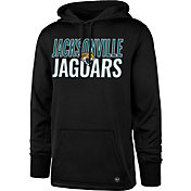 '47 Men's Jacksonville Jaguars Tech Fleece Black Performance Hoodie