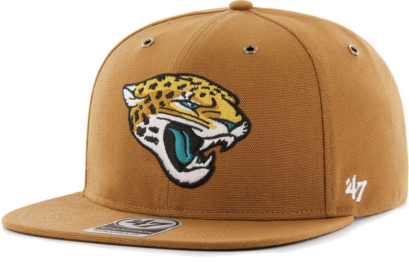 '47 Men's Jacksonville Jaguars Carhartt Captain Adjustable Brown Hat