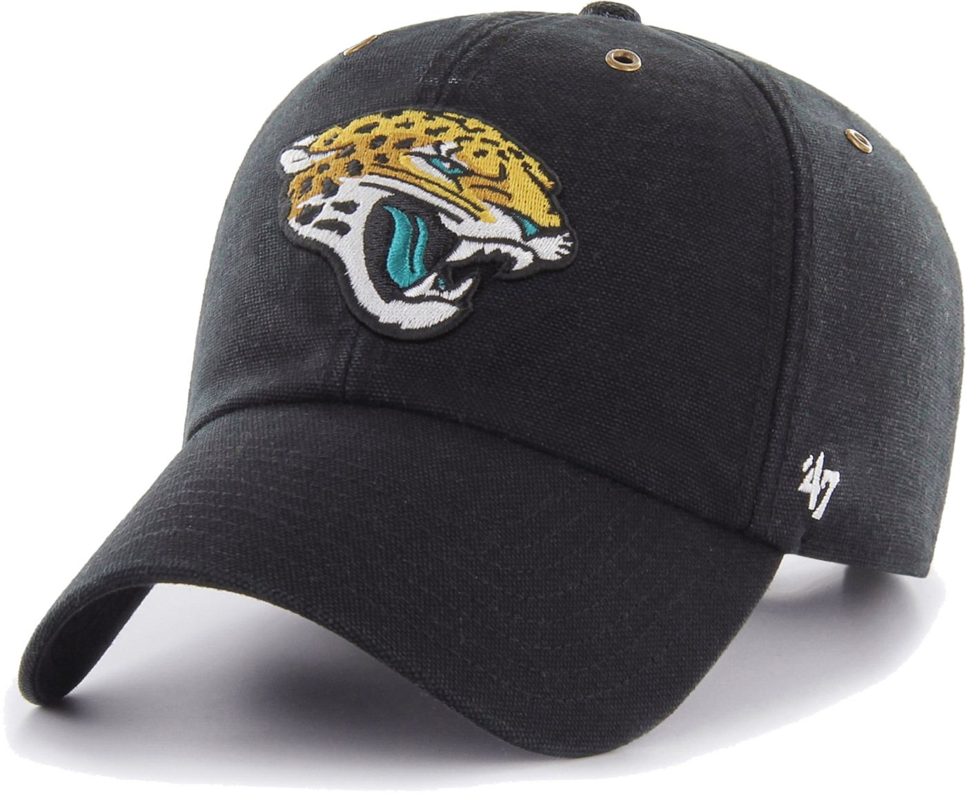 '47 Men's Jacksonville Jaguars Carhartt Clean Up Adjustable Black Hat