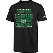 '47 Men's New York Jets 100th Club Legacy Black T-Shirt