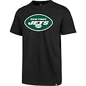 '47 Men's New York Jets Club Logo Black T-Shirt