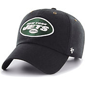 '47 Men's New York Jets Carhartt Clean Up Adjustable Black Hat